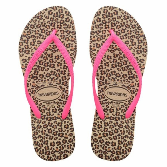 05dd542c514a Havaianas Slim Animal print sandals